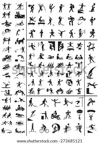 various sports black people
