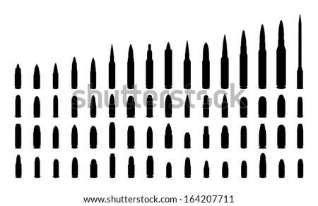 various types ammunition
