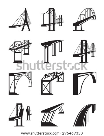 various types of bridges in