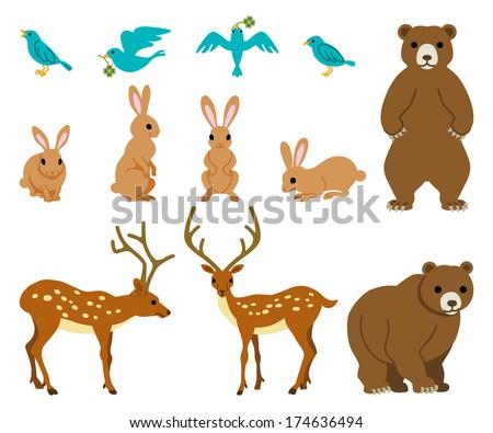 Various Animals Various Wild Animals Set