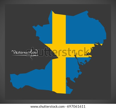 Free Sweden Map And Graphic Elements Download Free Vector Art - Sweden map flag