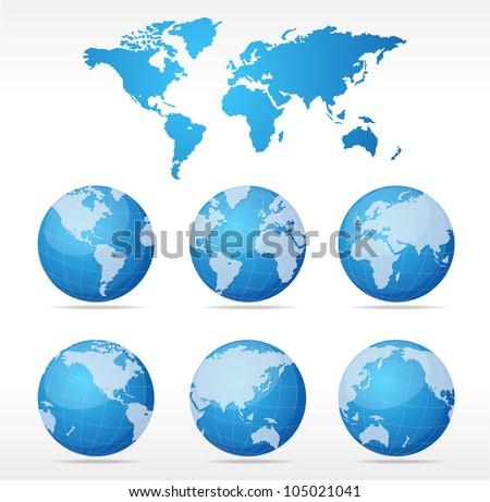 Vecrot globe set