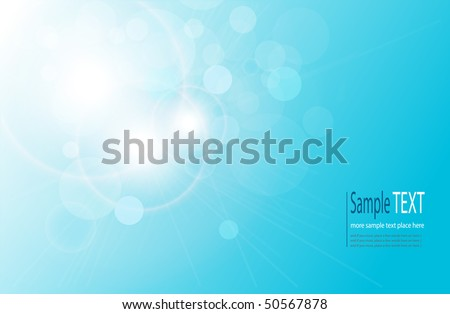 vector abstract background blue