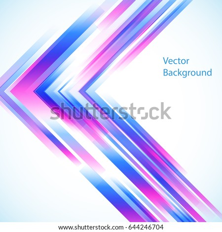 Vector abstract background from geometric shapes.