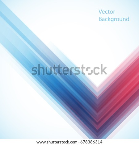 Vector abstract background from geometric shapes. Vector template.