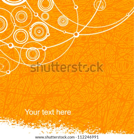 Vector abstract background (grunge style)