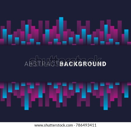 Vector abstract background. neon, modern background illustration