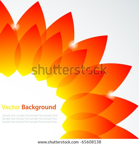 Vector abstract background. No transparency