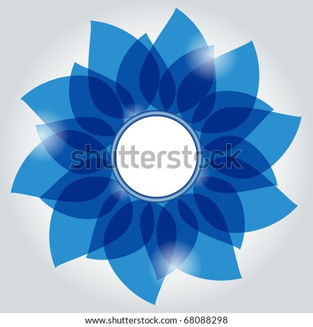 Vector abstract background. No transparency - stock vector