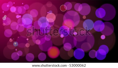 vector abstract background of red lights