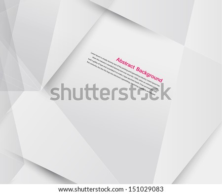 Vector Abstract Background Origami Geometric