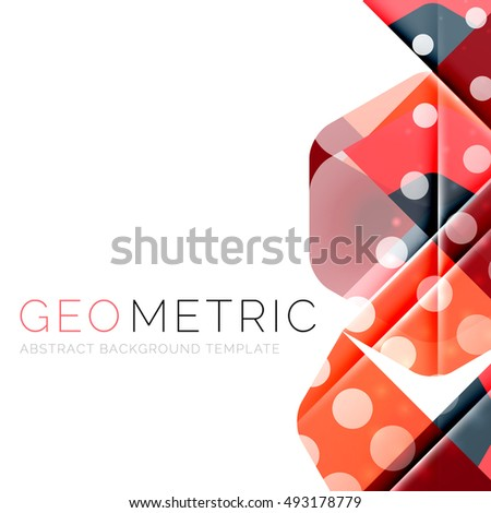 Vector abstract background with light effects #493178779
