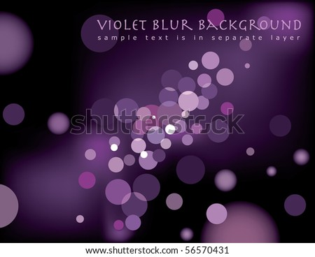 vector abstract background with sample text in separate layer