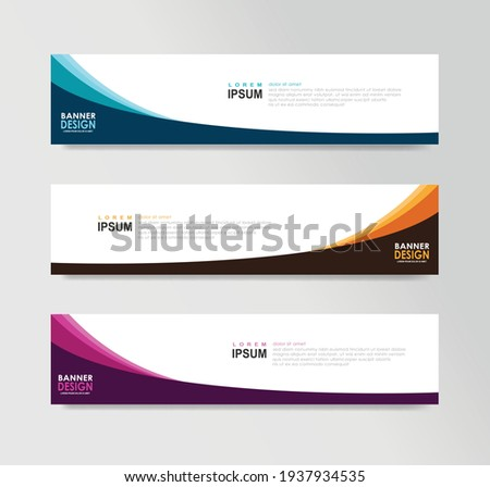 Vector Abstract Banner Design Web Template ストックフォト ©