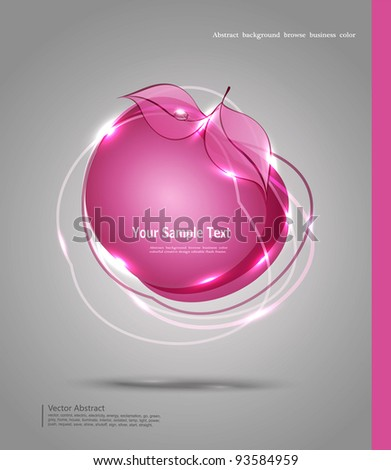 vector abstract banner in the