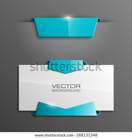 vector abstract banner the