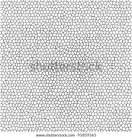 vector abstract black and white mosaic background