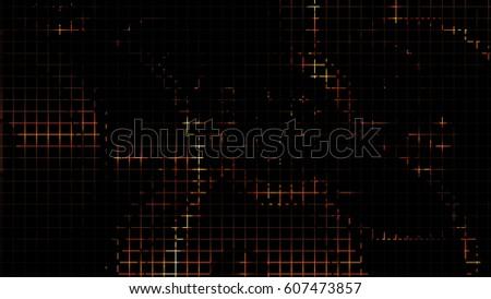 vector abstract black rust mech