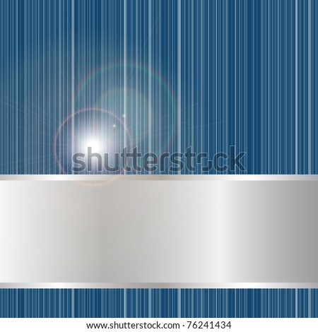 Vector abstract blue background with space for your text
