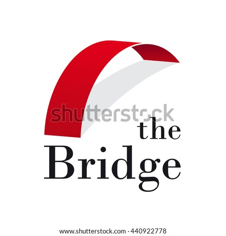 vector abstract bridge
