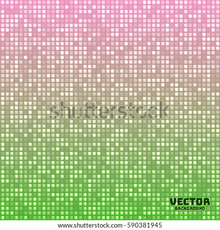 vector abstract bright mosaic