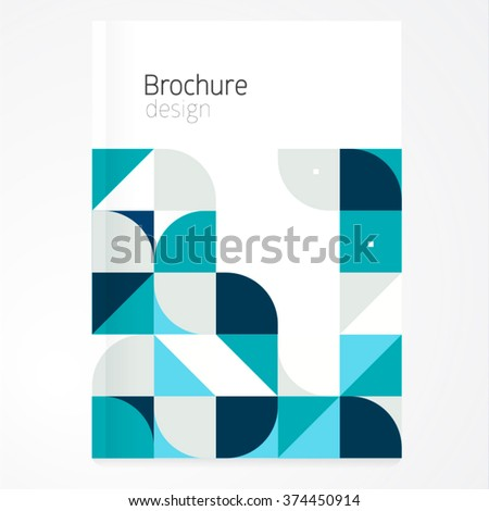 vector abstract brochure