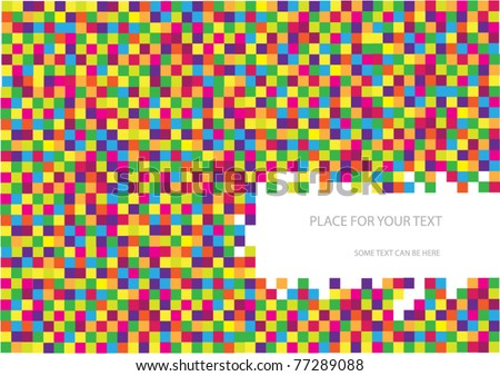 vector abstract checkered