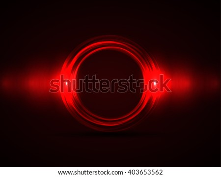 vector abstract circle on a