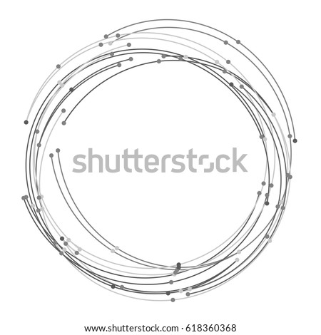 vector abstract circle with