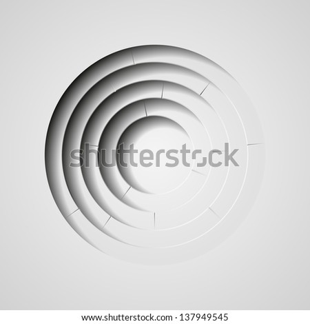 vector abstract circles with