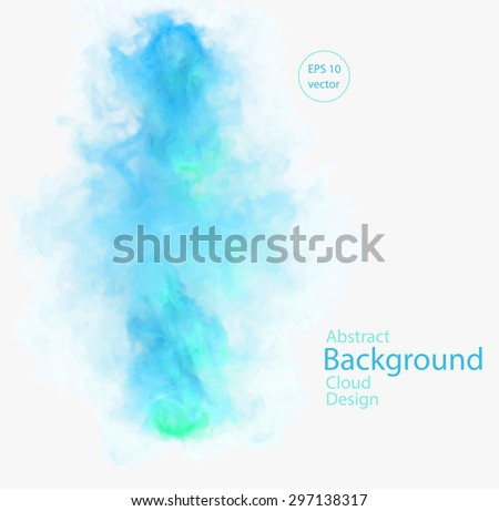 vector abstract cloud vector