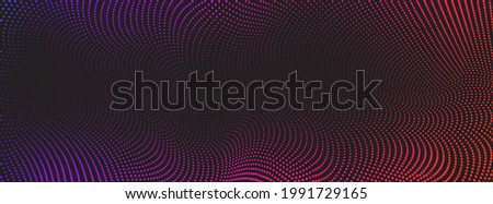 Vector abstract color background with halftone pattern