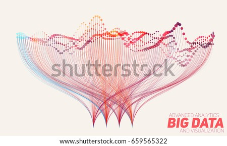 vector abstract colorful  big
