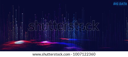 stock-vector-vector-abstract-d-big-data-visualization-futuristic-infographics-aesthetic-design-visual