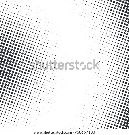 vector abstract dotted halftone
