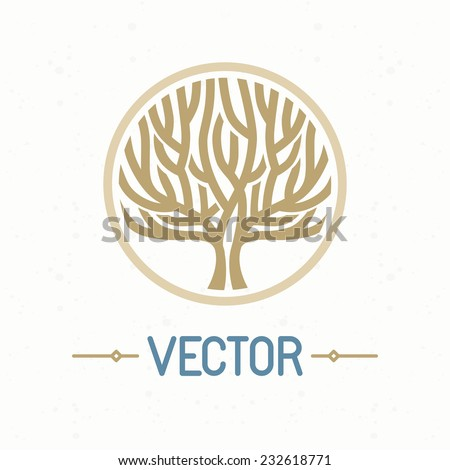 vector abstract emblem