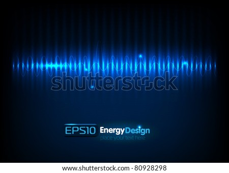 vector abstract energy