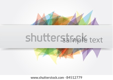Vector abstract envelope background