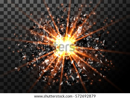 vector abstract explosion