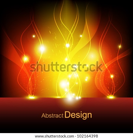 vector abstract flame eruption background, communication concept