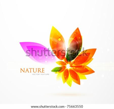Orange Floral Background Download Free Vector Art Stock