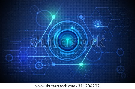 vector abstract futuristic