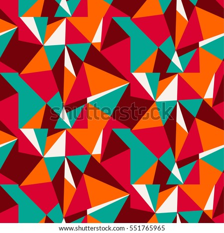vector, abstract, geometric pattern