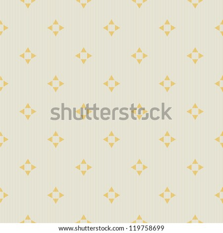 Vector abstract geometric seamless pattern