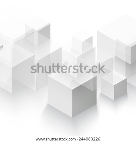 vector abstract geometric shape