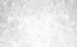 Vector abstract gray, triangles background.
