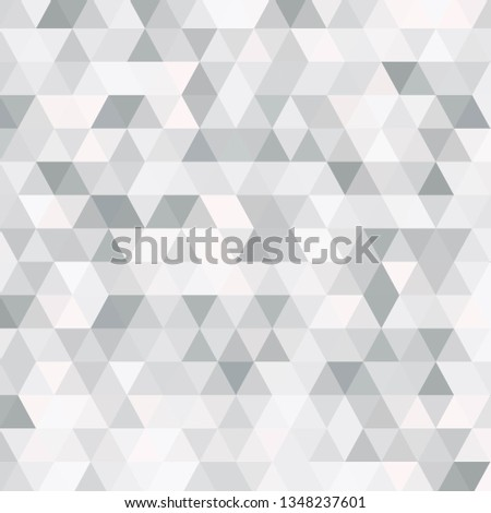 Vector abstract gray, triangles background