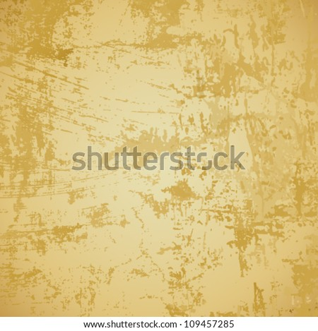 Vector abstract grunge background of old paper texture. Jpeg version also available in gallery. - stock vector