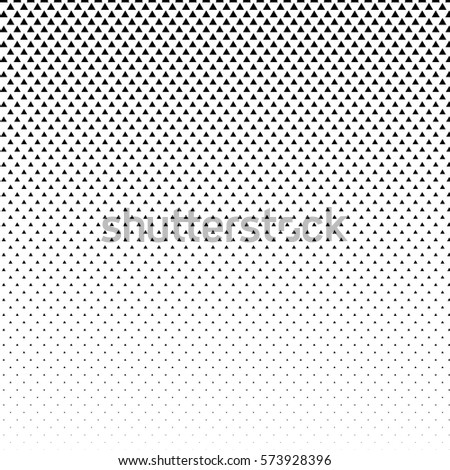 vector abstract halftone black