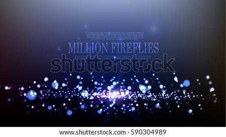 vector abstract million